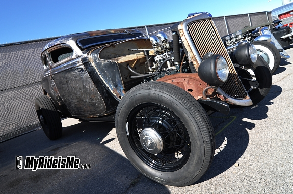 Traditional style hot rods, not rat rods, vlv14, Rockabilly car show