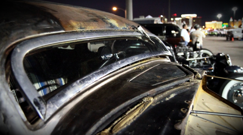 Viva Las Vegas 2011, Viva Car Show, VLV 14, extremely chopped car