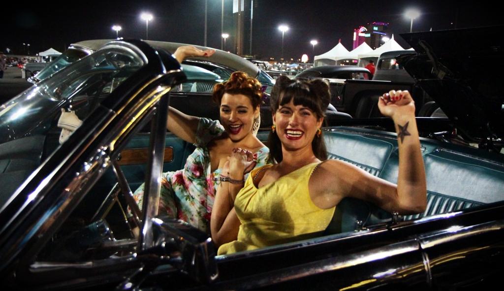 Viva Las Vegas 2011, Viva Car Show, VLV 14, car show girls