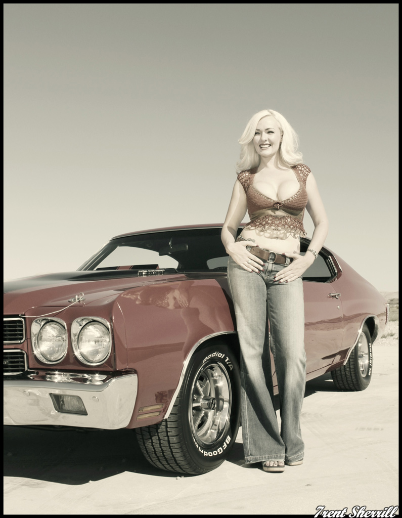 Hot Girls Cars 2014 | Chevrolet Chevelle Girl | cars and bods for ...