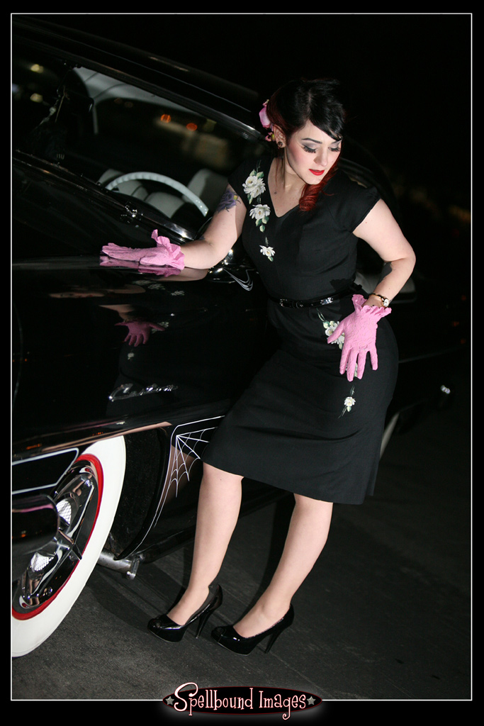 rat rod pinup, pin up girl, pinups, pin-up model, pin up photography, tattooed pinup, GNRS 2011