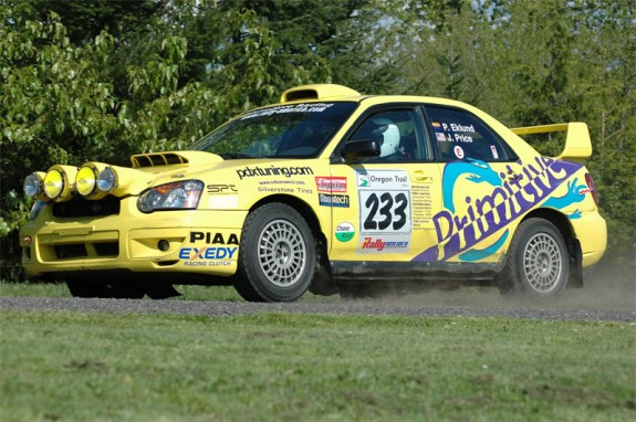 Paul Eklund Subaru, Subaru Rally, rallying, rally america, rally racing oregon