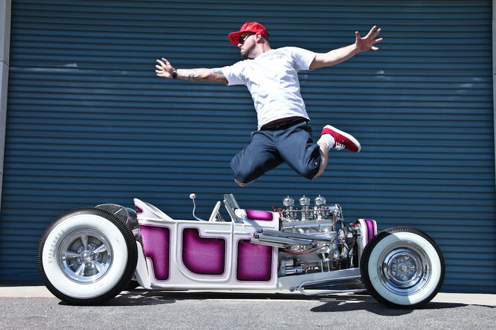 Dan Collins 27 Ford Roadster, custom 27 ford roadster