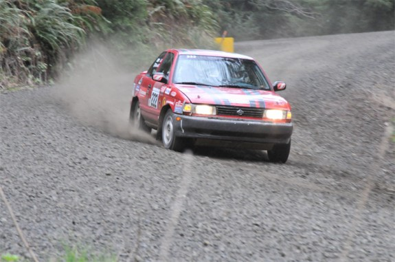 rallying, rally america, rally racing oregon, Nissan Rally, Nissan  rally car