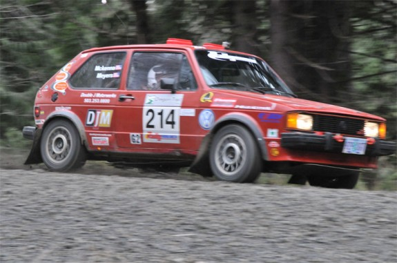 Volkswagon Rally Car, rallying, rally america, rally racing oregon