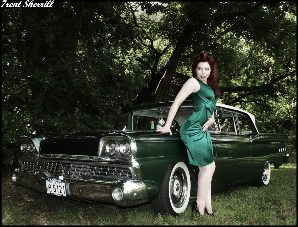 Pin Up Girl, Pin Up Model, Hot rod Pinup, Fetish Model Ludella