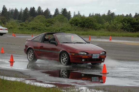 Wet Track Day, track day racing