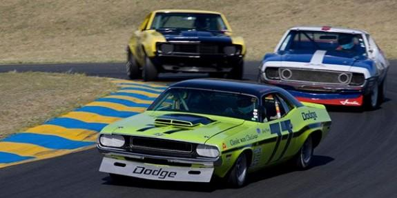 Historic Trans AM Racing, trans am racing