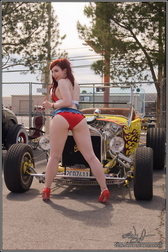 Hot Rod Model, Pin-ups, pinup photography