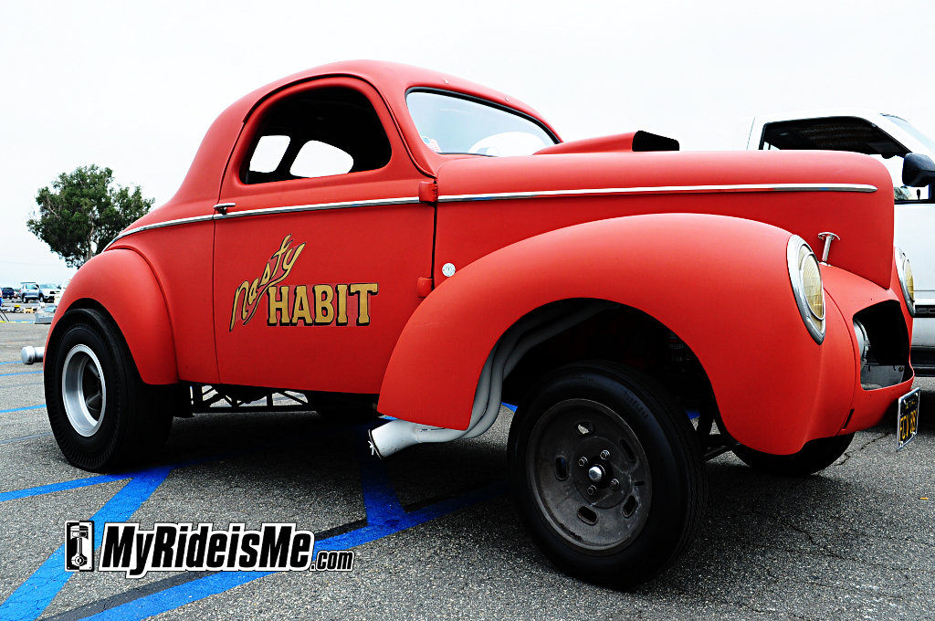 Gasser Willys, vintage willys hot rod, custom hot rods