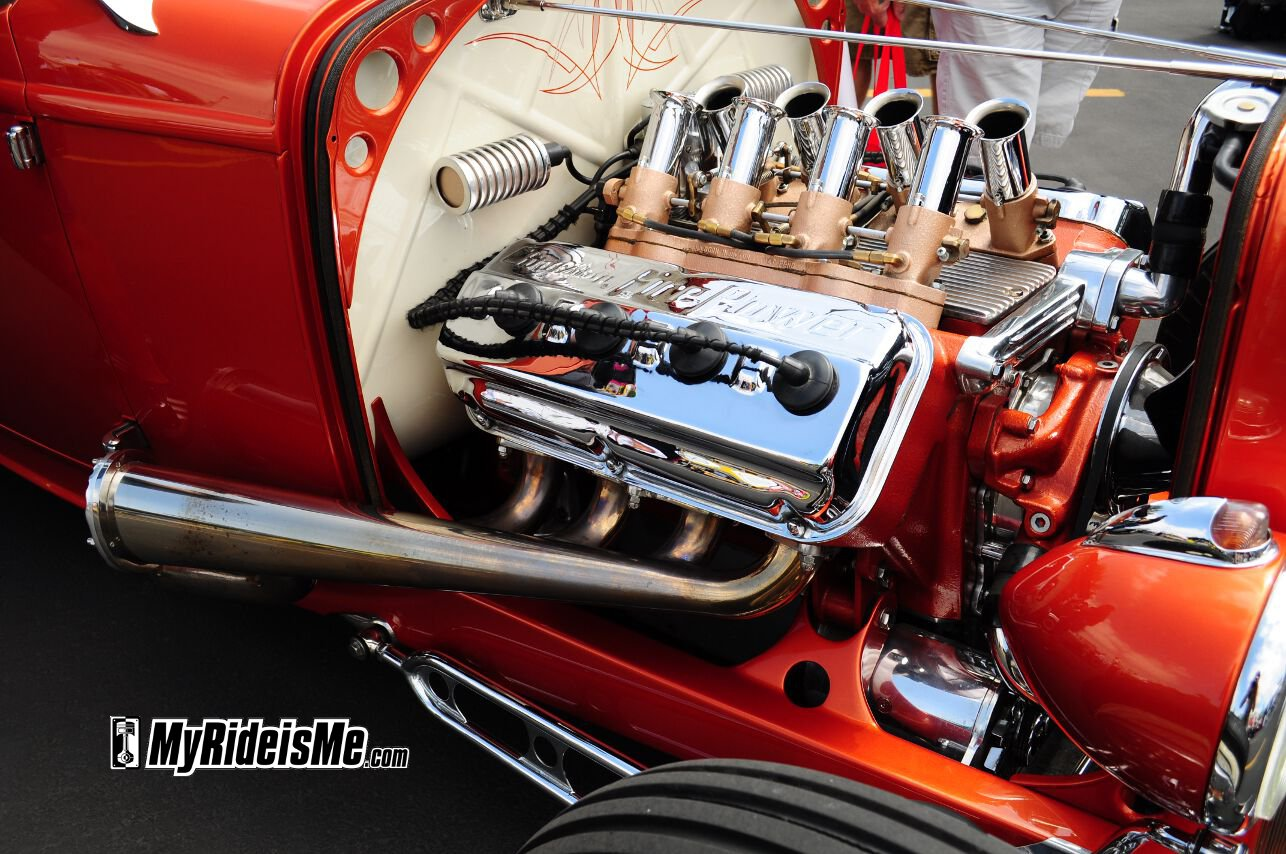 15 of the Best Hot Rod Engines at LA Roadster Show | MyRideisMe.com