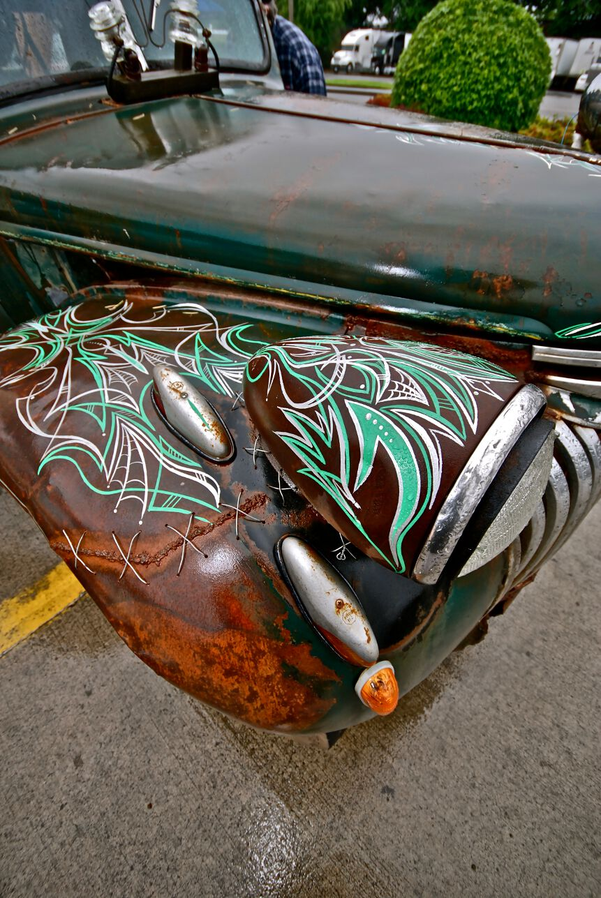 pinstriping designs, pinstriping pics, hot rod pinstriping