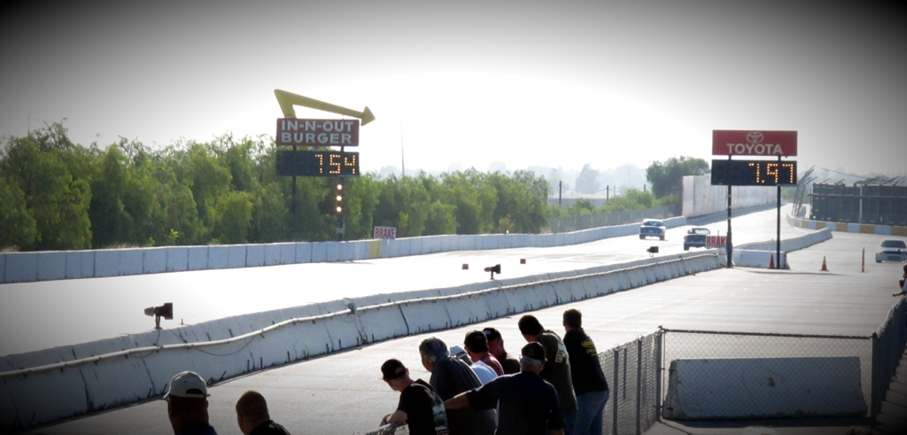 irwindale finish line, chevy race off, drag racing