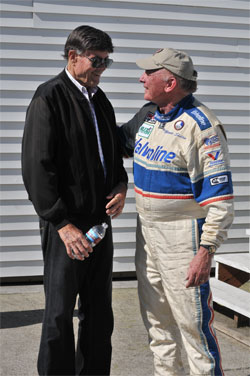 Jerry Grant (L) and Monte Shelton in 2010