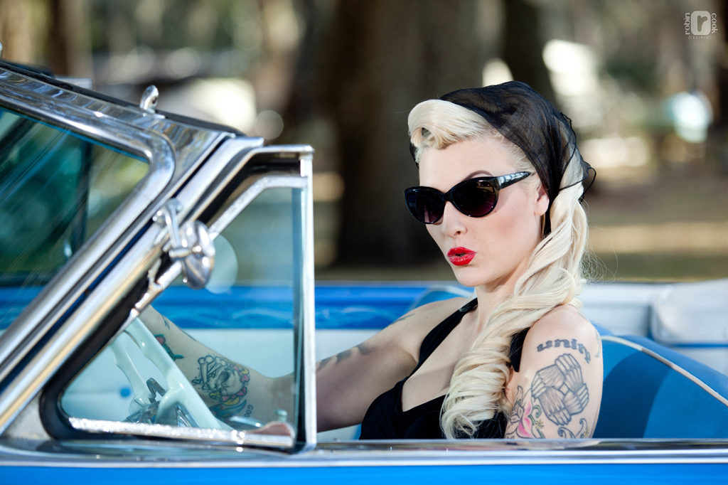 hot rod pinups,  hot rod girls, pin up photography,  hot pinup