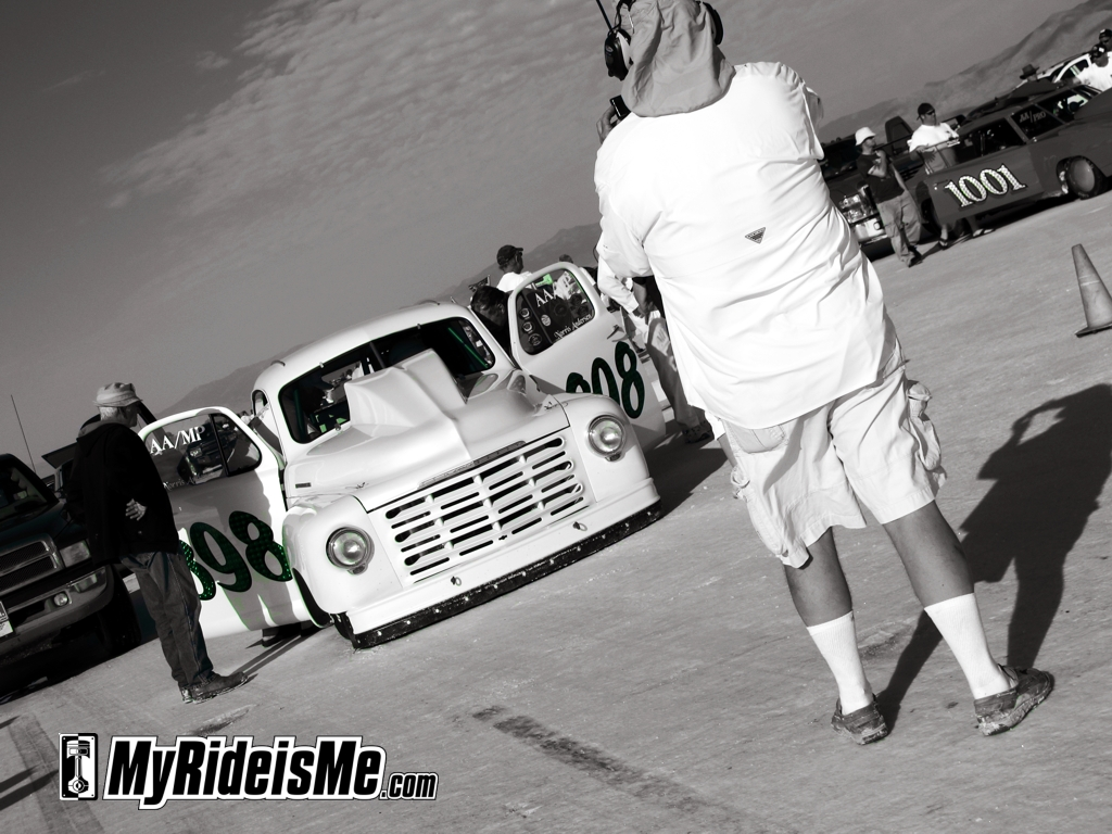 Speed Week 2011, salt flat racing, bonneville salt flats, speedweek 2011, land speed racing, studebaker pickup, 898