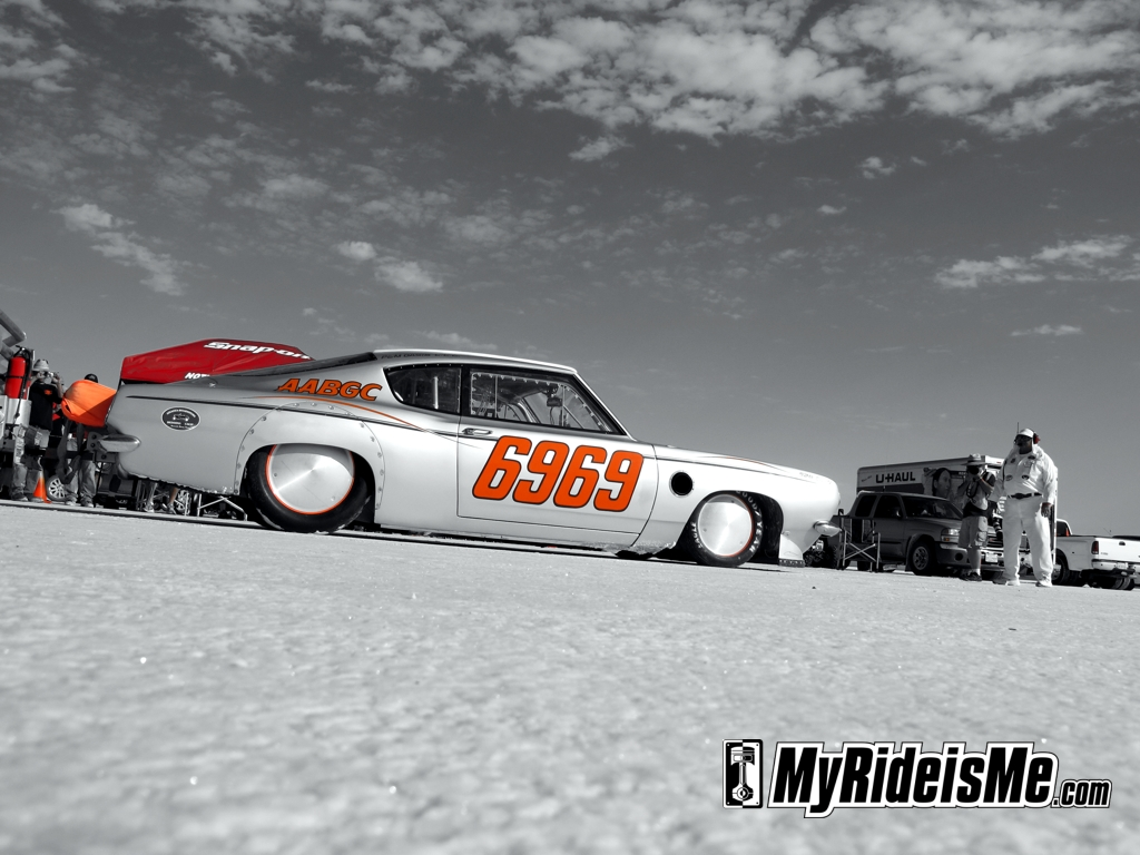 Speed Week 2011, salt flat racing, bonneville salt flats, speedweek 2011, land speed racing, 1968 baracuda, 6969