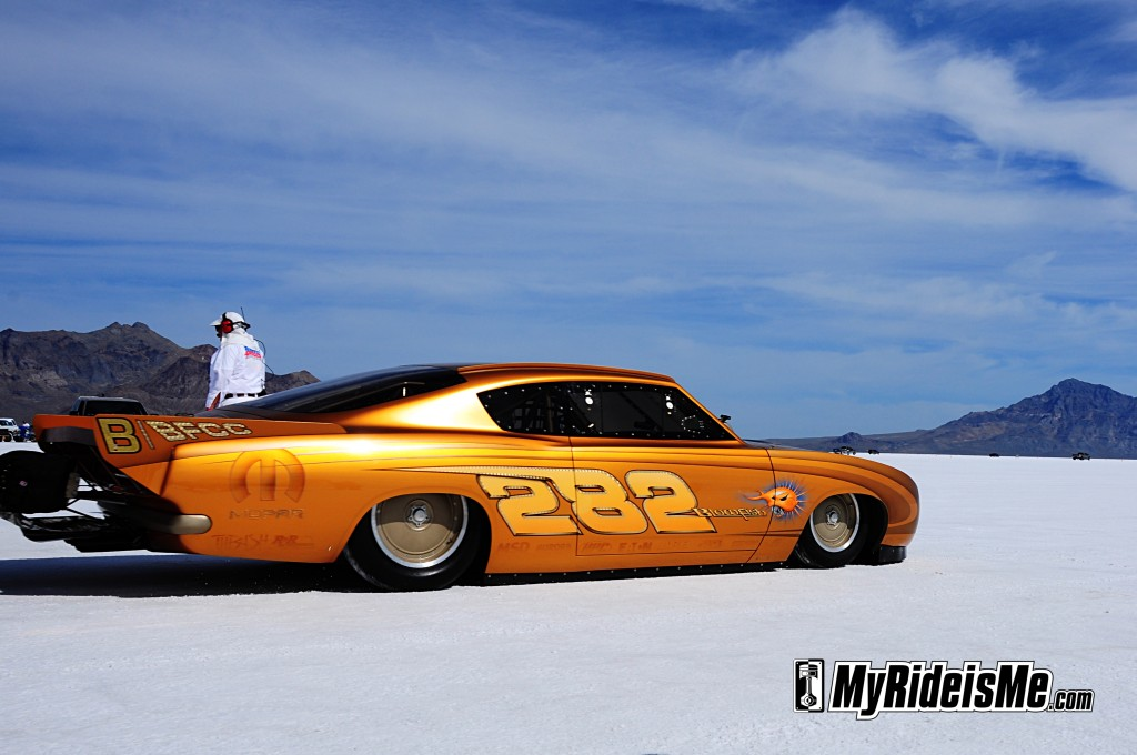 1969 Plymouth Barracuda, rad rides by troy, 2011 Bonneville Speedweek