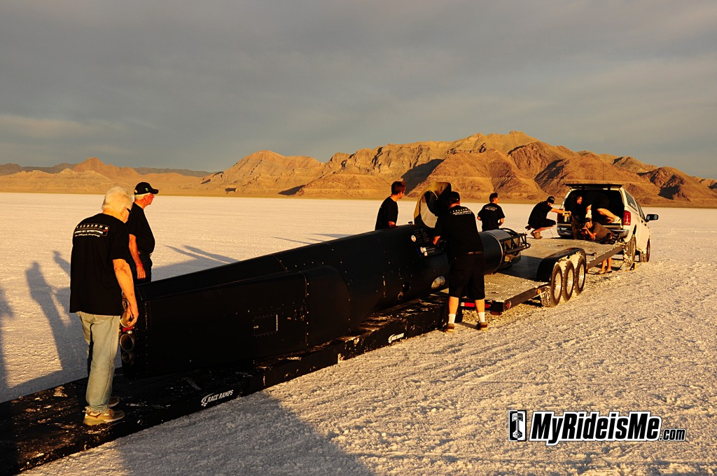 2011 Bonneville Speed Week, Speedliner streamliner, land speed racing