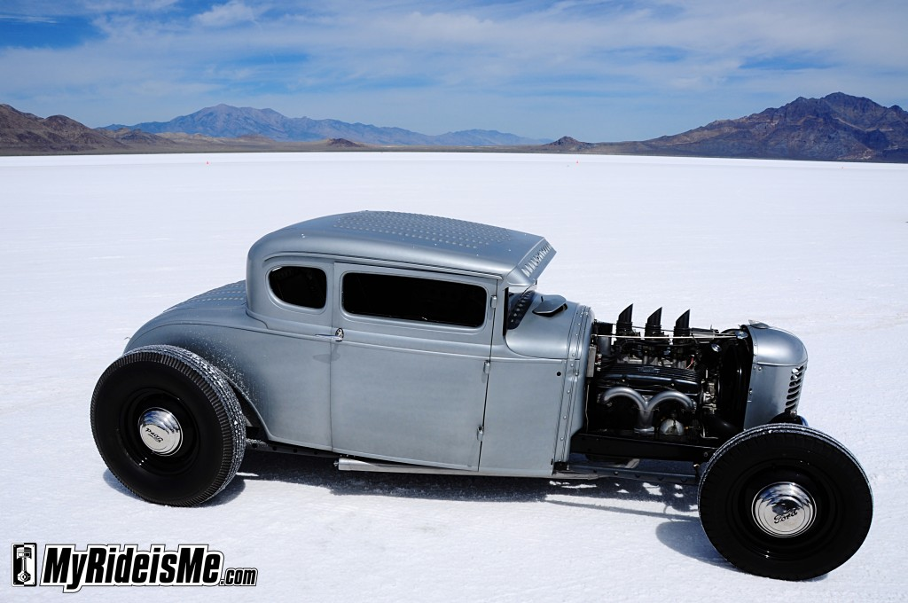 Hot Rods on the Salt -2011 Bonneville Speed Week | MyRideisMe.com