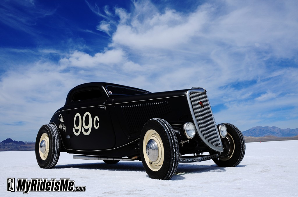 vintage hot rod coupe, hot rod ford coupe, 1934 ford coupe, Bonneville hot rods