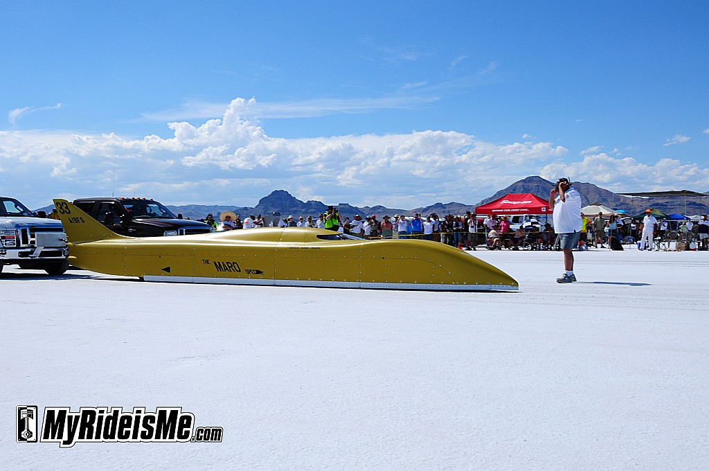 bonneville streamliner, bonneville salt flats, 2011 Speed Week