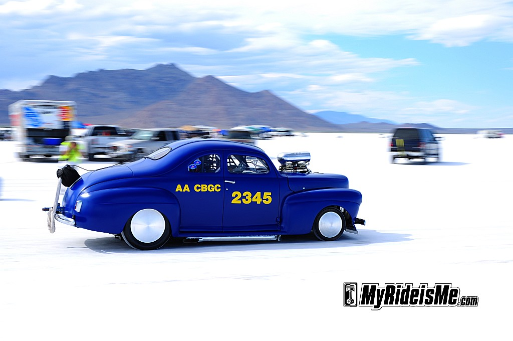 Bonneville Speed Week, 2011 Bonneville Speed Week, 1941 Ford Coupe