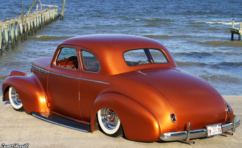 Custom 40 Coupe, Chevrolet Coupe Custom, 1940 business coupe