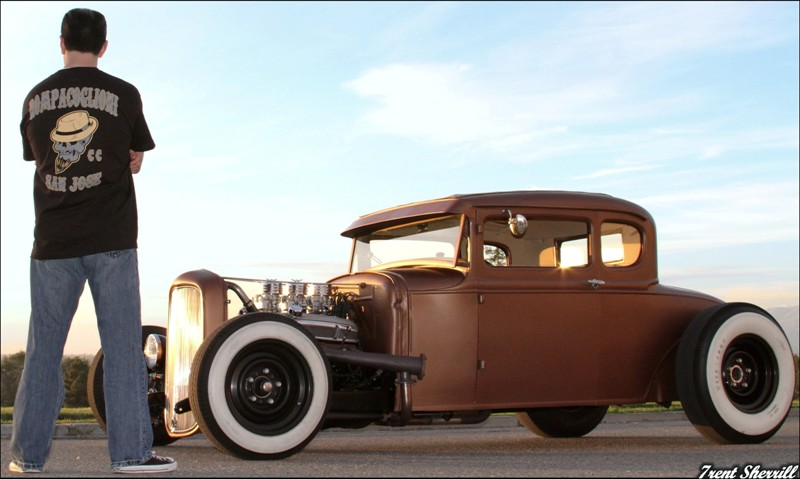 Model A hotrod, 30s Hot Rods, 1930 Ford, Traditional Hot Rod