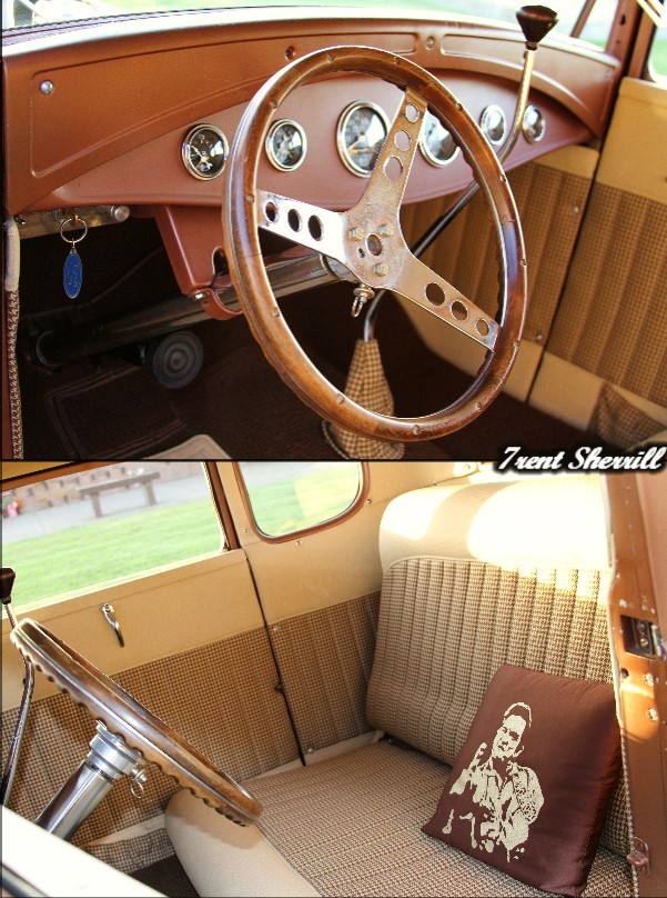 Hot Rod Interior, 1930 Ford Interior, Ford Coupe Interior