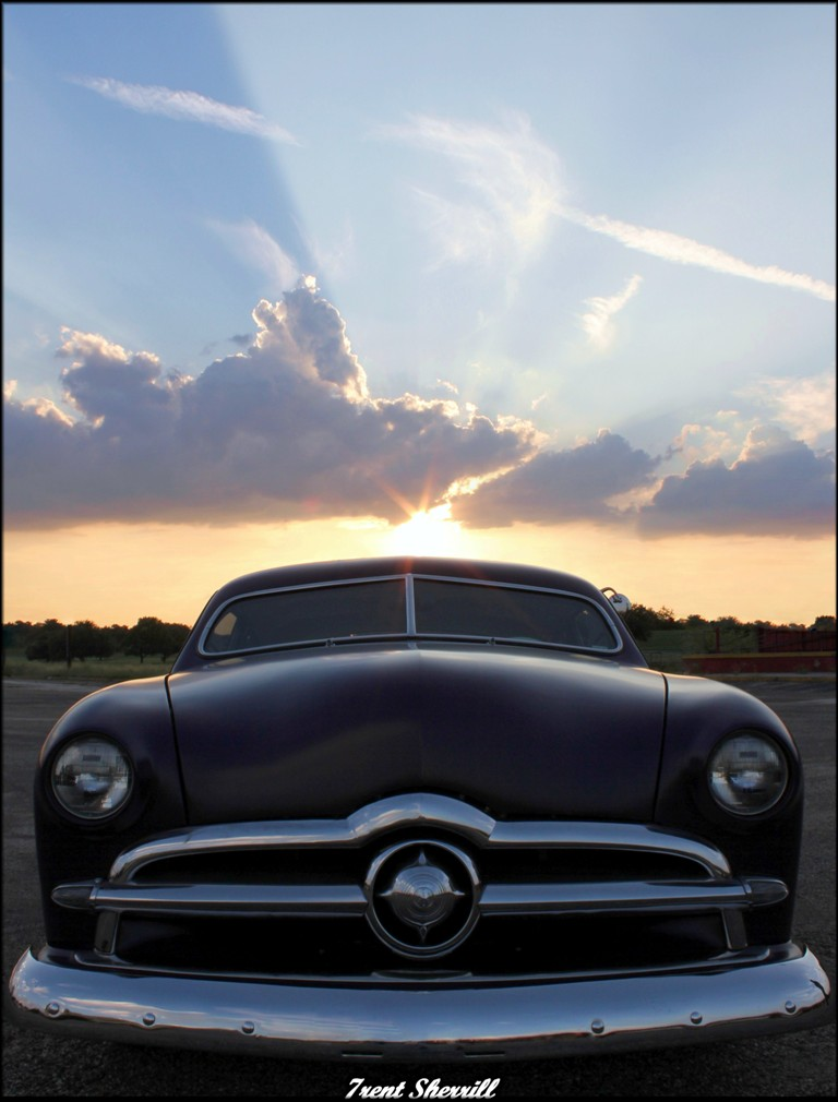 car photography, 49 ford, 49 ford custom