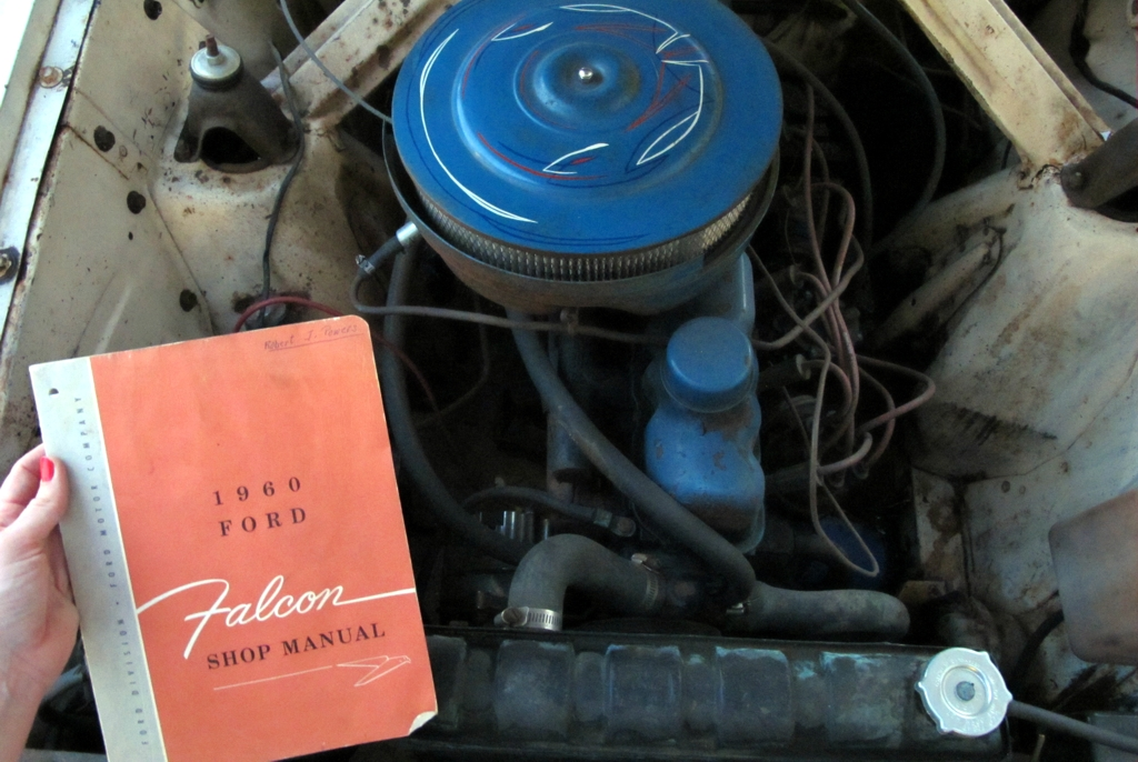 1960 ford falcon, ford falcon shop manual, ford falcon, ford falcon 2-door, ford falcon sedan, 1960 ford falcon sedan, falcon restoration, falcon project