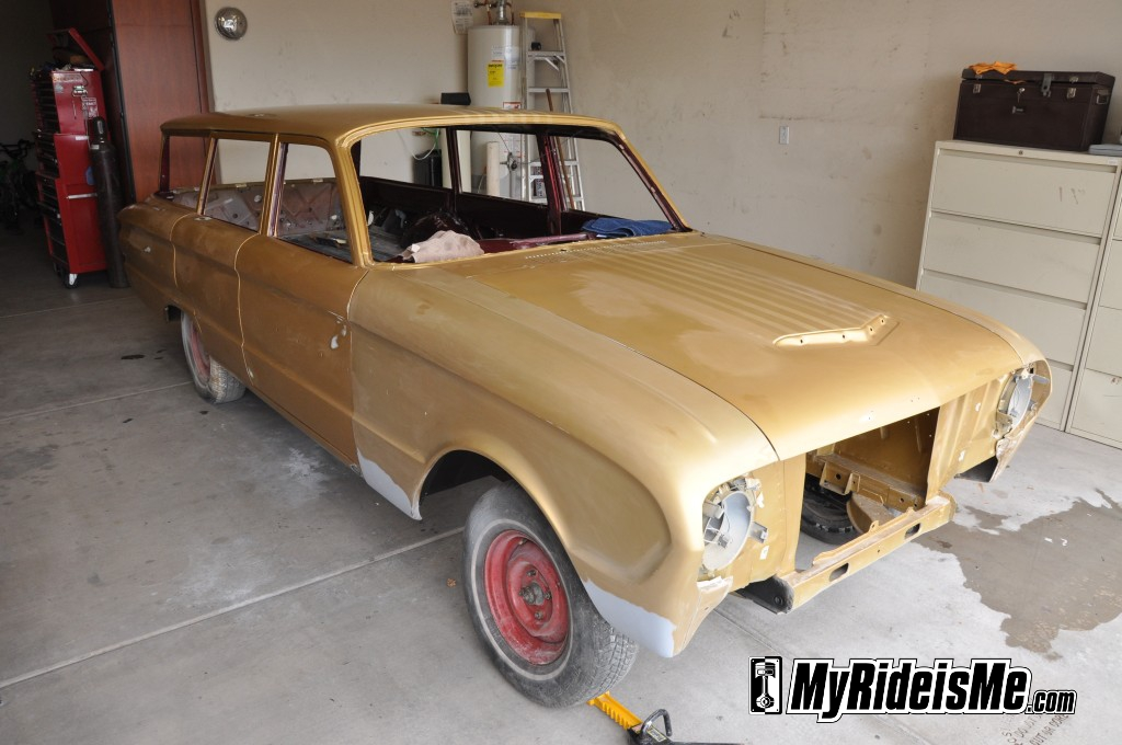 1963 ford falcon, flat paint jobs, matte clear coat