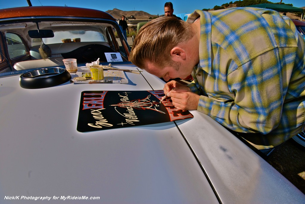 pinstriping, car show pictures