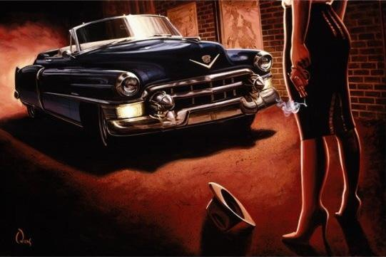 low brow art, hot rod art, james owens
