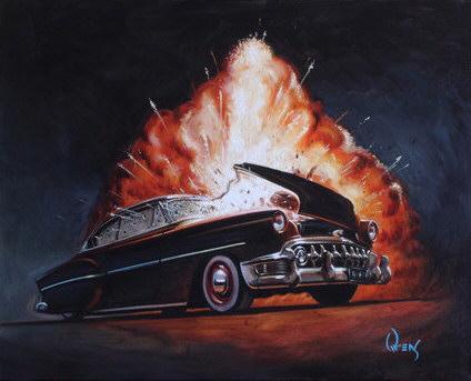 how to draw cars, hot rod art