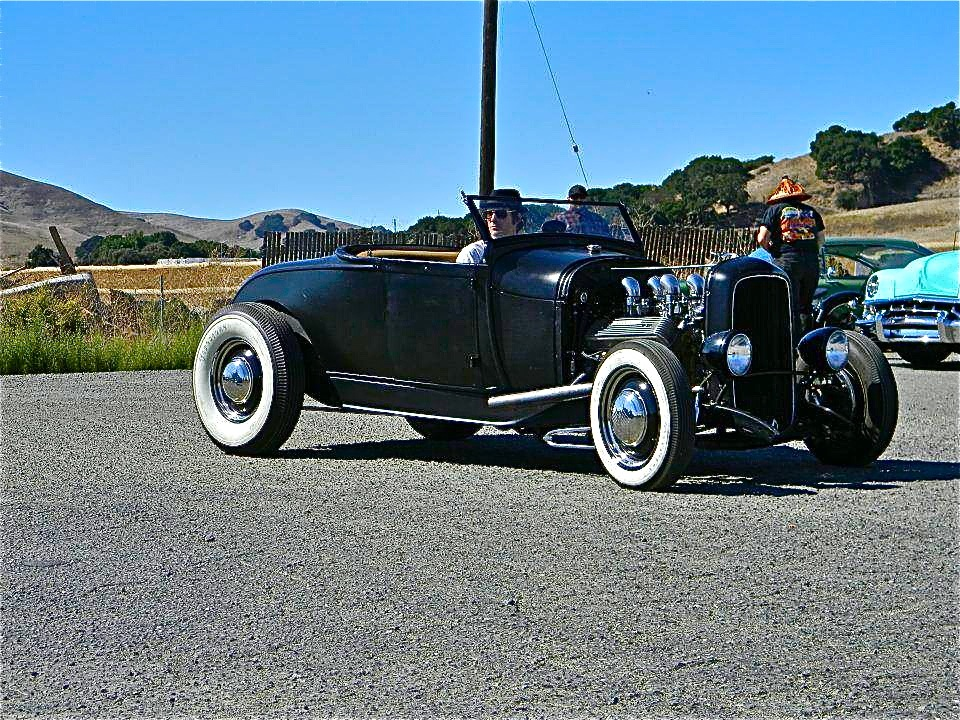 Hot Rods, california car shows, 1932 Ford Roadster