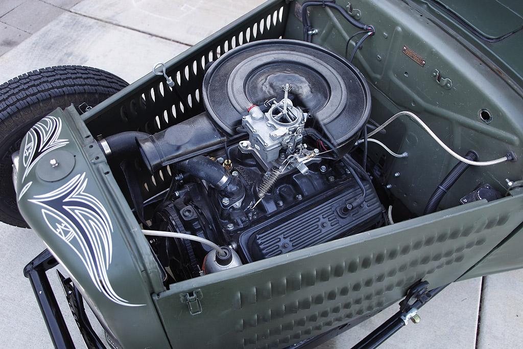 hot rod ford pickup, 1933 Ford, pinstriping