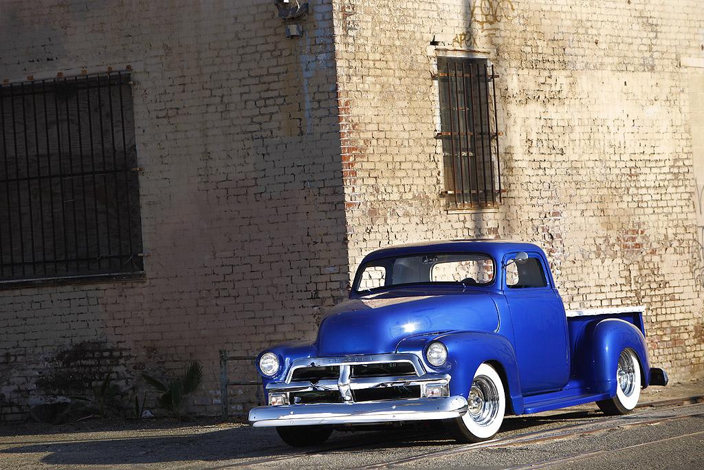 custom chevy truck, 1954 Chevy Truck, 54 chevy pickup, 50s chevy truck