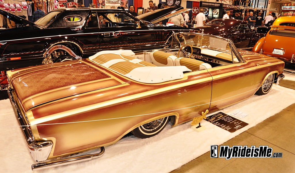 2012 Grand National Roadster Show, hot rods and custom cars, suede palace