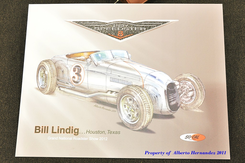 2012 AMBR winner, 2012 America's Most Beautiful Roadster, hot rod art