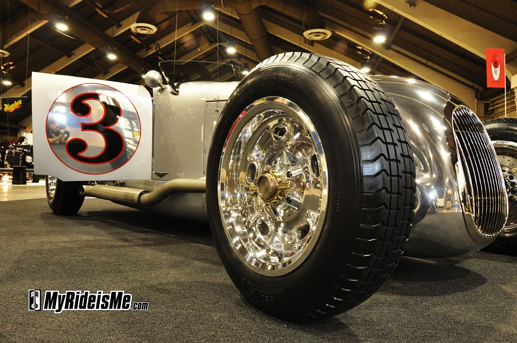 2012 AMBR winner, 2012 America's Most Beautiful Roadster, front wheel