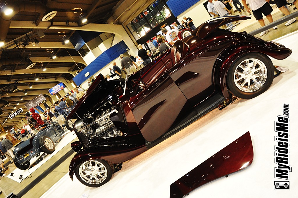 1933 hot rod, America's Most Beautiful Roadster, Grand National Roadster Show, hot rods
