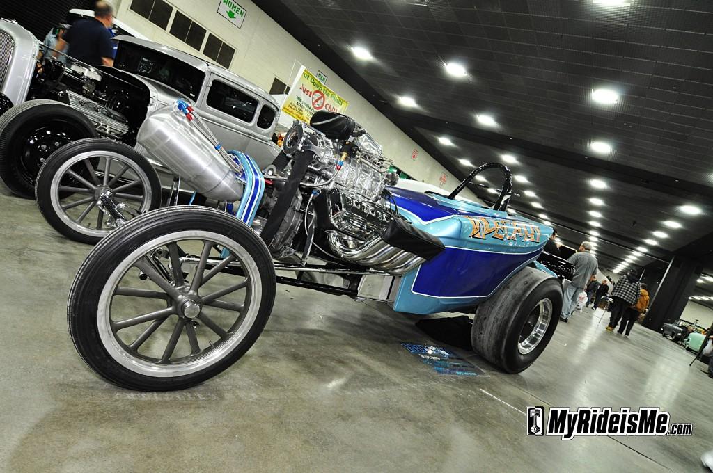 2012 Detroit Autorama Basement, custom buick, custom riviera