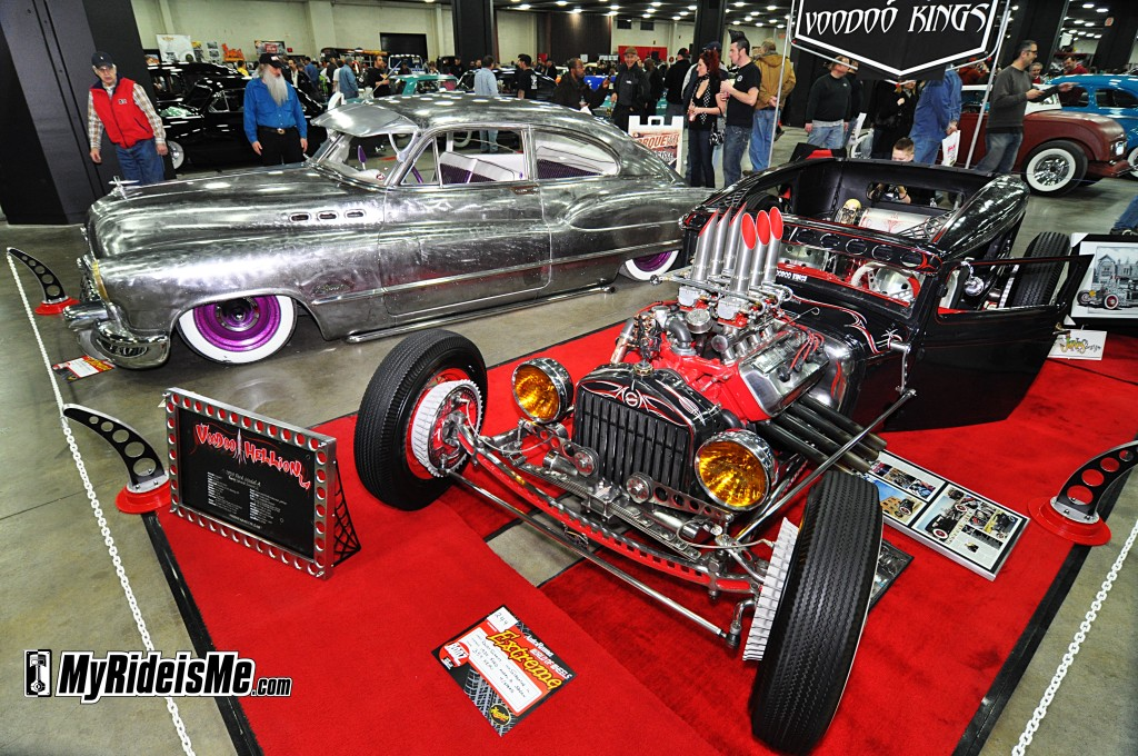 2012 Detroit Autorama Basement, hot rods, custom cars
