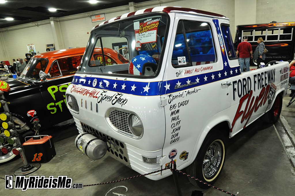 2012 Detroit Autorama Basement, custom van, not stock photography