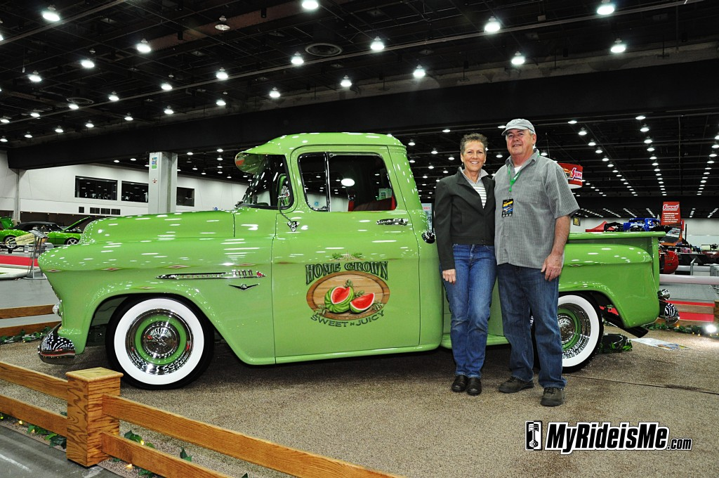 2012 Detroit Autorama, custom 1955 Chevy truck