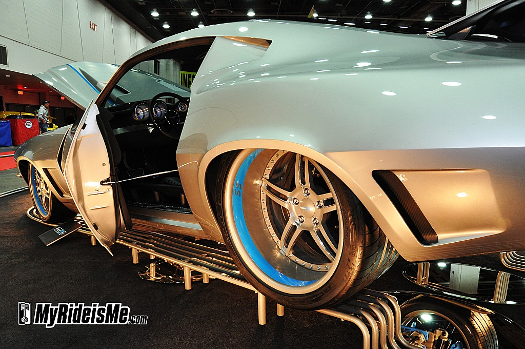 1971 Chevy Camaro, Pro Touring, 2012 Detroit Autorama