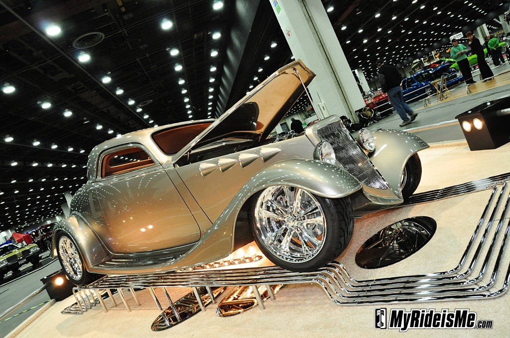 1933 hot rod, 2012 Detroit Autorama, 1933 Ford Coupe, hot rod