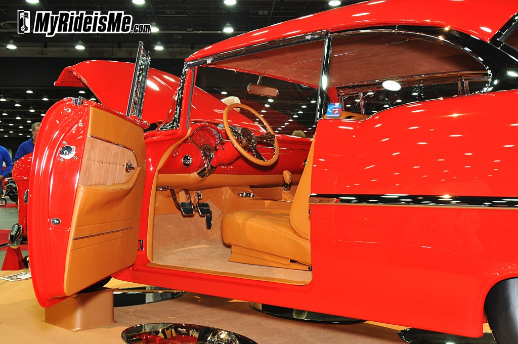2012 Detroit Autorama, 2012 Ridler Award, 55 Chevy custom interior